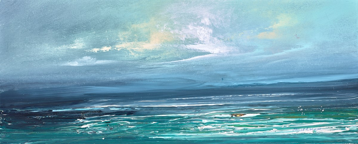 The Sky After the Storm IV by philip raskin -  sized 16x7 inches. Available from Whitewall Galleries